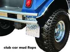 Club Car ds Golf Cart Diamond Plate Mud flaps/guards