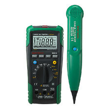 MASTECH MS8236 Autoranging Digital Multimeter With Cable Track Tester
