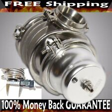 SILVER EMUSA 50MM V-BAND Wastegate fits Toyota Honda Acura Dodge BMW
