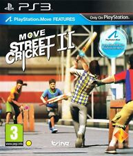 MOVE STREET CRICKET II 2 PS3 Game (PRE OWNED) (USED) Excellent Condition