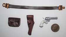 """Dragon 1/6th Scale WW2/WWII U.S Colt Holster Belt & Pouch """"Patton"""""""