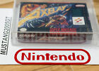 Snes Nintendo Konami Axelay New Factory Sealed Vga 85 Silver Level rare