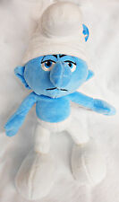 "The Smurfs - Grouchy  10"" Basic Plush Wave, New by Jakks"