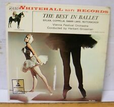 """Whitehall hi-fi Records - """"THE BEST IN BALLET"""""""