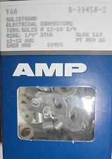 NEW AMP 8-33458-2 ELECTRICAL CONNECTORS BOX OF 50