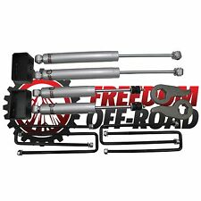 "2000-2010 1500HD 2500HD 3500HD 1""-3"" Leveling Lift Kit w/ Shocks"