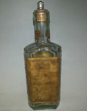 c1930 Rare Old Vintage Aromatic Eau De Cologne Perfume Bottle Made in London