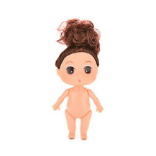 9cm Fashion Mini Doll for ddung Girl Dolls Collectible Charms as Dollhouse GOCA
