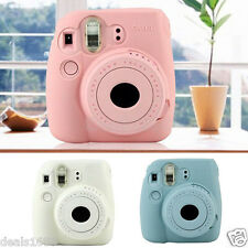 3-Color Luminous Camera Compact Case Skin Cover For FUJIFILM Instax Mini8 Mini8s