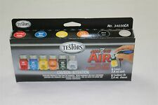 TESTORS - AMAZING AIR - ACRYLIC PAINT AIRBRUSH REFILL SET - 6 Colors - NEW