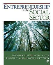 Entrepreneurship in the Social Sector by Leonard, Skillen Stevenson, Austin