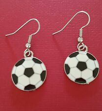 Football Earrings Show you love Soccer New drop dangle