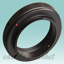 T/T2 lens to Nikon mount adapter ring for SLR DSLR camera D7000 D3300 D60 D5200