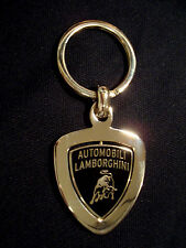 Genuine Licensed Lamborghini Rotating Shield Key Chain / Key Ring / Keychain