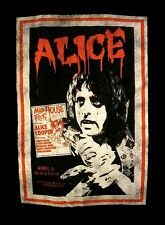 ALICE COOPER cd lgo VINTAGE POSTER TEE Official SHIRT XL New from the inside