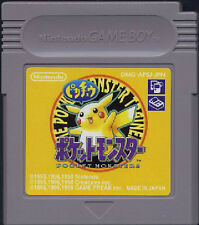 Pokemon Pikachu Version /Game Boy /GB Pocket Monsters /Cartridge only /Japanese