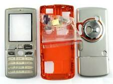 New! Silver and Orange Housing fascia cover case for Sony Ericsson W800 / W800i