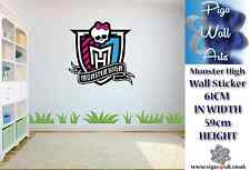 Monster High Wall Art Sticker Children's room décor large