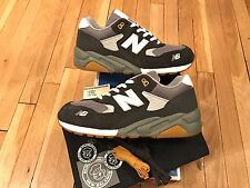 New Balance MT580BC US11 Burn Rubber Blue Collar Mita Hectic White Stüssy