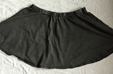 BNWT Charcoal NEW LOOK Skirt With Elasticated Waist Size 18