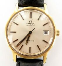 VERY NICE 1973 OMEGA CAL. 1012 AUTOMATIC DATE MENS WATCH, WORKING. REF. 166 0163