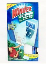 Windex OUTDOOR All-in-One Water Activated Glass Cleaning Tool Streak-Free Shine
