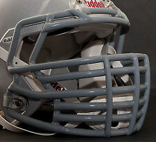 JUSTIN TUCK style Riddell Revolution SPEED Football Helmet Facemask - GRAY