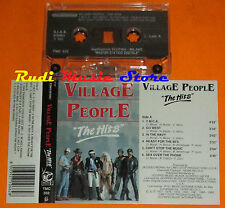 MC VILLAGE PEOPLE The hits 1992 italy FONIT CETRA TMC 332 cd lp dvd vhs
