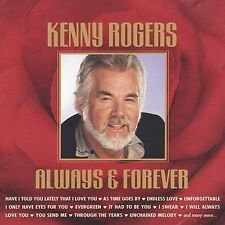 Always & Forever by Kenny Rogers (CD, 1999, 2 Discs, Madacy)