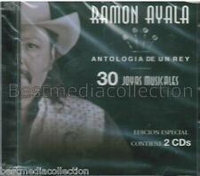 Ramon Ayala CD NEW Antologia De Un Rey SET ORIGINAL Con 30 Canciones Y Corridos