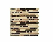 Smart Tiles Peel and Stick Mosaic Decorative Wall Tile in Bellagio (6-Pack)