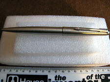 PARKER ENGLAND BALLPOINT PEN + PARKER F REFILL MARKED L.S.USED a001t2ry