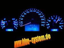Tachobeleuchtung Blau ROT MERCEDES CLK-KLASSE W208 o.LÖTEN