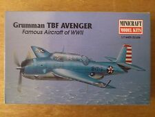 1:144 Minicraft no. 14414 Grumman TBF Avenger. Kit