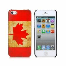 RETRO CANADA FLAG  Case Cover  For Apple iPhone 5 5G 5th iPhone5  5S SE