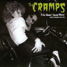 File Under Sacred Music: Early Singles 1978-1981 by The Cramps (CD)LOWEST PRICE!