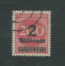 GERMANY, WEIMAR REPUBLIC # 269 Used INFLATION ISSUE (2)