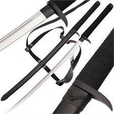 Handmade Sword Death Fang Dark Ninja High Carbon Katana Sword FREE Sheath