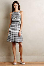 NEW ANTHROPOLOGIE Saybrook Stripe Dress 6 S Small by Eva Franco