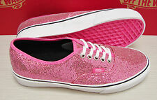 Vans Authentic Glitter Pink Micro Dots Women's Size: 10
