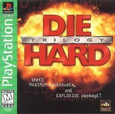 Die Hard Trilogy (Greatest Hits) (Sony PlayStation 1, 1997)
