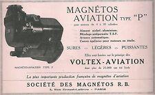 Publicité Magnétos Voltex aviation avion aéronautique aircraft