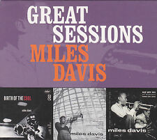 MILES DAVIS - great sessions BOX 3 CD
