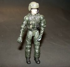 1:18 BBI Elite Force U.S Helicopter Pilot Crew Figure with Helmet  Rare