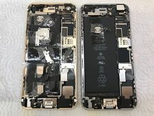2 iphone 6 plus logic board motherboard parts  w home button Locked Turns ON