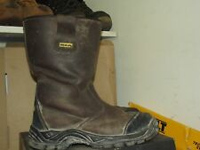 Mens Stanley Ashland Waterproof Leather Rigger Safety Boots UK 9 / EU 43 AA602
