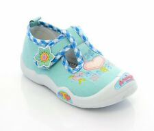 AMERICAN CLUB Girls canvas shoes trainers size 8 UK  BABY GIRL Toddler Slippers