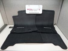 Toyota 4Runner Black Carpet Floor Mats Genuine OEM OE