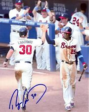 Autographed 8X10 RYAN LAVARNWAY  Atlanta Braves photo - w/COA