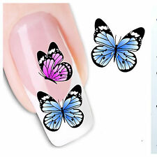 Butterfly water transfer nail art decoration sticker halloween nail decals